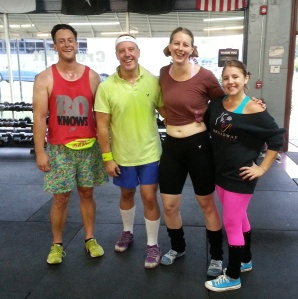 80's day at Crossfit Durham