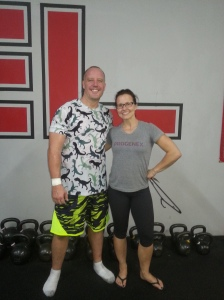 Funky Shorts at Marvel Strength